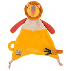 Doudou Attache Tetine Lion...
